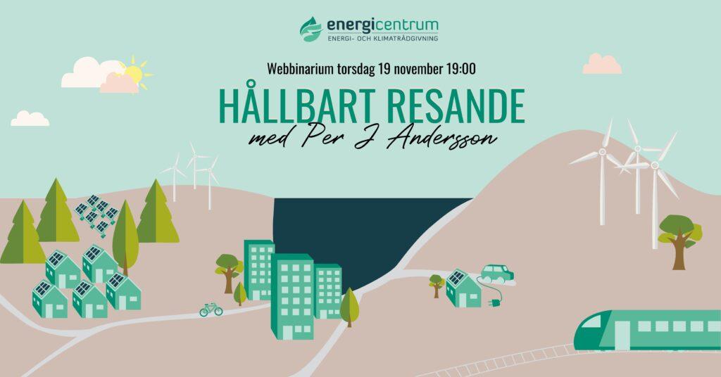 Webbinarium – Hållbart resande med Per J Andersson