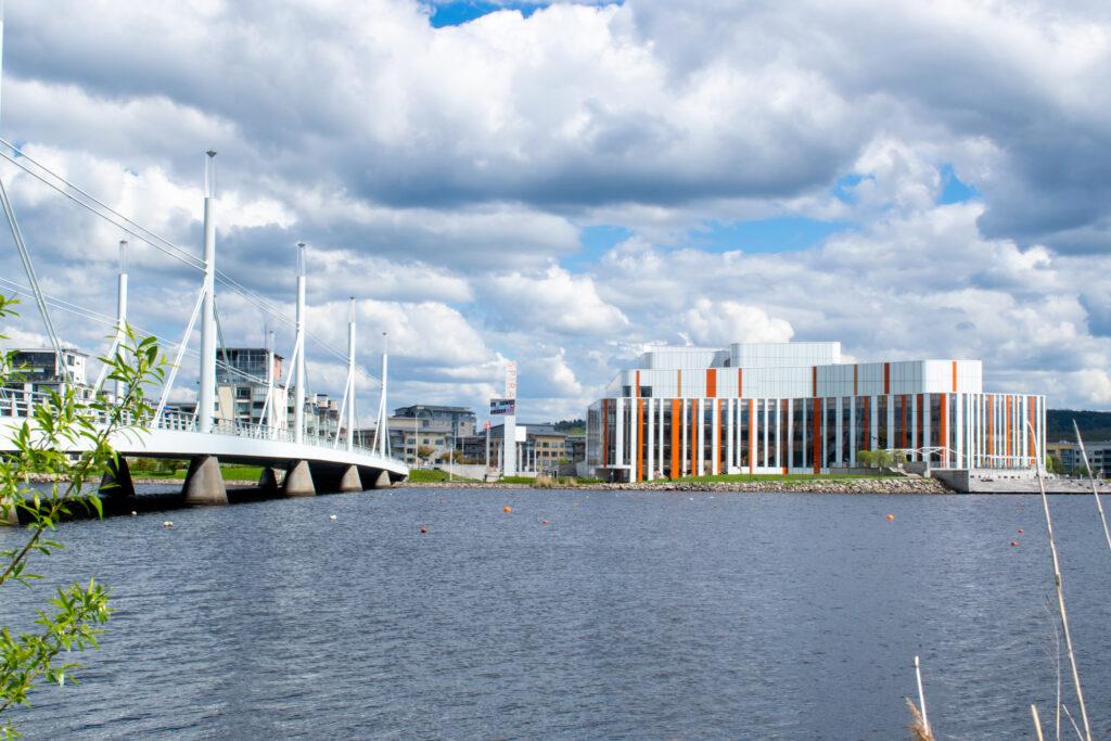 Hemestra i Jönköping! Spira och Munksjöbron