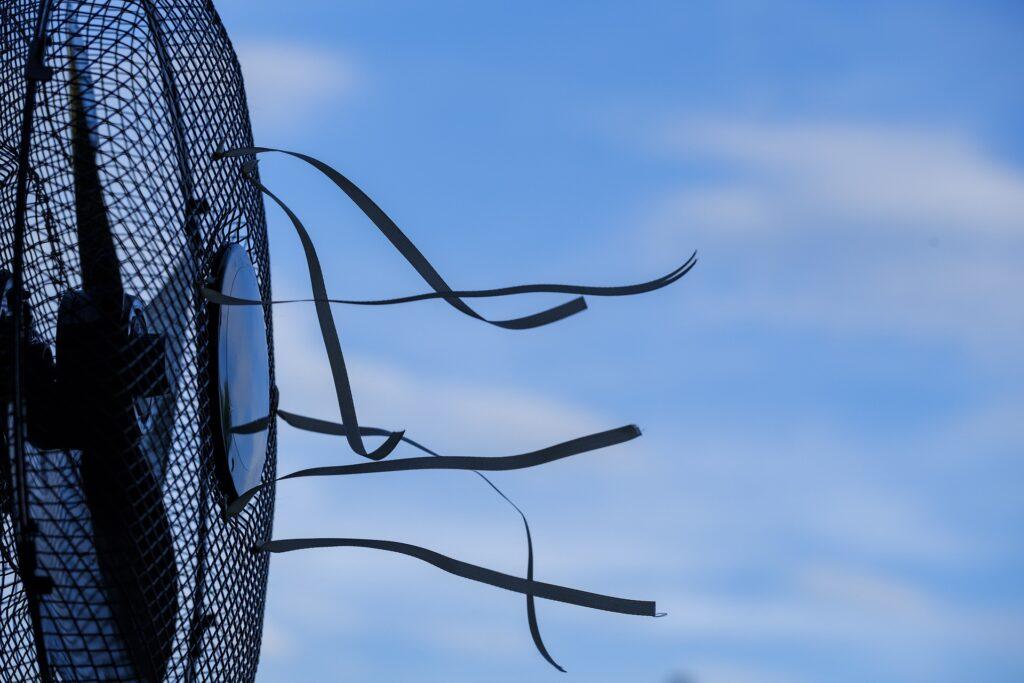 Fläkt, cirkulera luften för ett svalt inomhusklimat