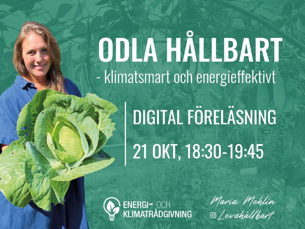 Digital föreläsning – Odla hållbart